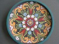 Folk Art Painting-Rosemaling