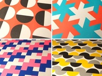 Geometric Themed Graphic Tables