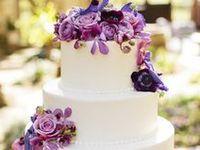 Purple Weddings: Cakes & Food