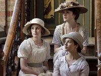A period drama set in 1910s-1920s about the Crawley family and servants. Created by Julian Fellowes and it first aired on 26th September 2010 on ITV. Opening theme tune is 'Did I make the most of loving you?'