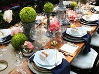 96 meilleures images du tableau d co pour repas familial table de no l deco mariage et. Black Bedroom Furniture Sets. Home Design Ideas