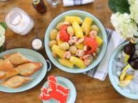 Stove Top Clambake on Pinterest | Low Country Boil, Crab Feast and ...