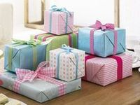 Pretty Wrapped Parcels