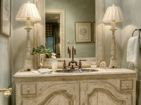 19 Best Powder Room French Country Images On Pinterest Bathroom Armchair And Bath