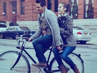 fashion & bicycle // street style