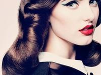 1940-50's Hair Styles & Makeup on Pinterest | 1940s Hair, 1950s Makeup ...