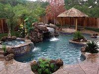 Backyard Ideas: pools/decks/patio