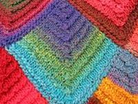 1000+ images about KNITting modular, mitered on Pinterest Shawl, Ravelry an...