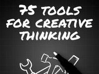 Everybody has a creative side - so these infographics provide anybody with really practical ideas as to how you can think creatively and turn this creativity into real difference.
