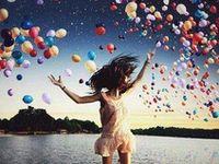 Balloons = Happy