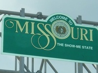 """Missouri gets its name from a tribe of Sioux Indians of the state called the Missouris. The word """"Missouri"""" often has been construed to mean """"muddy water"""" but the Smithsonian Institution Bureau of American Ethnology has stated it means """"town of the large canoes,"""" and authorities have said the Indian syllables from which the word comes mean """"wooden canoe people"""" or """"he of the big canoe.""""  To learn about those that have called Missouri home visit my board entitled """"Once a Missourian."""""""