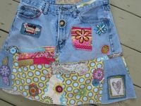 Recykleren met jeans - Recycle/ Refashion/ Upcycle jeans