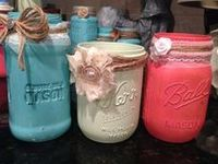 1000+ images about Decorated Canning/Mason Jars on Pinterest