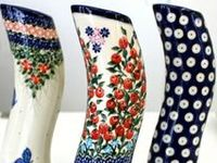 Largest selection of Polish Pottery in the Midwest. Add a Star Dish to your Polish Pottery collection for all of your holiday festivities!. View all of our Illuminated Houses, .