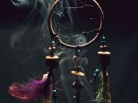 Dream catchers... Little keepers from the Native Americans...