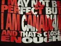 Proud to be Canadian.