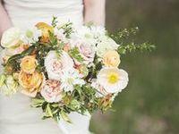 Gorgeous bridal bouquets.