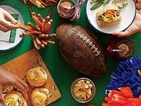 all kinds of food for your game day