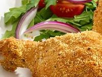 just chicken....all kinds of chicken recipes..