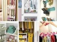 Organizing and storage ideas and tips.