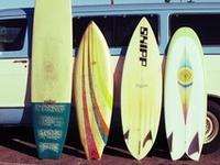 Classic surfing stoke & nostalgia