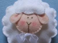 Lamb theme baby shower