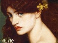 Dante Gabriel Rossetti (/ˈdænti ˈɡeɪbriəl rəˈzɛti/;[1] 12 May 1828 – 9 April 1882) was an English poet, illustrator, painter and translator. He founded the Pre-Raphaelite Brotherhood in 1848 with William Holman Hunt and John Everett Millais, and was later to be the main inspiration for a second generation of artists and writers influenced by the movement, most notably William Morris and Edward Burne-Jones.