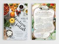 Cookbook Page Layouts