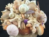 Themed Bouquets / Seashells, Buttons, Rockabilly etc
