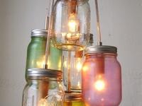 mason  jars  &  bottles