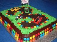 Car/Truck  Birthday Cakes