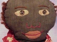 i love turning cloth into dolls they all have their own personality .I really like vintage african american dolls.