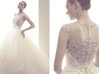 All kinds of designer wedding dresses. Get some inspiration for your big day here!