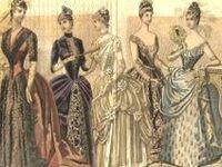 Late 19th Century Fashion Plates