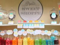 Sophisticated way to display chic, scrumptious sweets for every occasion