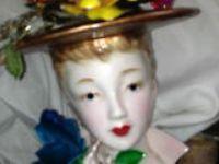 Lady's Head Vase