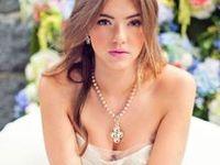 Ideoita morsiamen hääkoruihin ja hääpäivän asusteisiin. Bridal jewelry and accessories, wedding fashion.