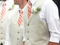 Stylish inspiration for the men at your wedding