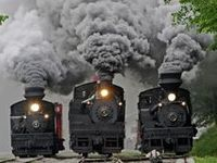 I love trains and railways especially the older steam trains.