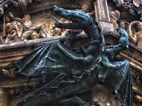Barber Yard Chico : 1000+ images about Dragons & Gargoyles on Pinterest Stone statues ...