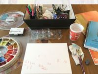 Art / Art supplies, inspiration, creative spaces, tips on painting, illustration, and more!