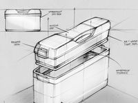 Matt Seibert : Product Design / Product Design sketches, digital renderings, and 3D modeling projects.  Artist: Matthew Seibert, Freelance Product Designer