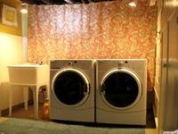 1000 Images About Unfinished Basement Ideas Laundry Room On Pinterest