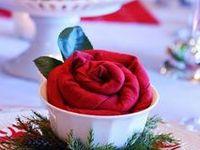 2013 Christmas napkin fold