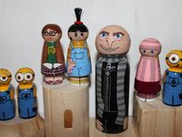 Clothespin/Peg People