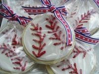 Ideas for planning a baseball or sports theme baby shower.