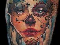 Watercolour Tattoos
