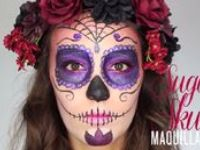 59 best images about maquillage on pinterest halloween makeup butterfly makeup and eyes - Maquillage mexicain facile ...