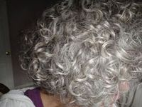 grijs!!!!! on Pinterest | Gray Hair, Grey Hair and Curly Gray Hair