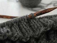 Knitting + crocheting + embroidery